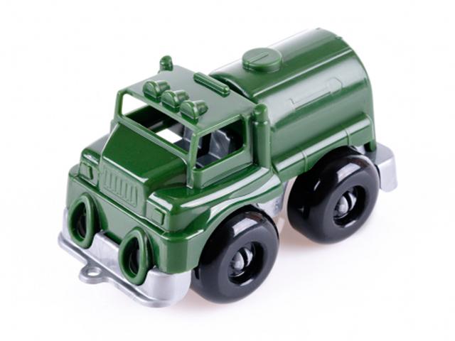 """Машинка KNOPA """"Вжух на войнушке. Цистерна"""" 10 см, на картоне с европодвесом"""