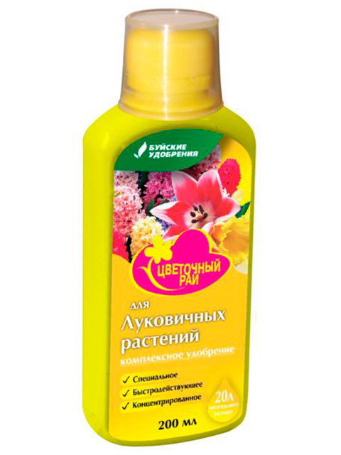 """Цветочный рай """"Для луковичных растений"""" 200мл"""