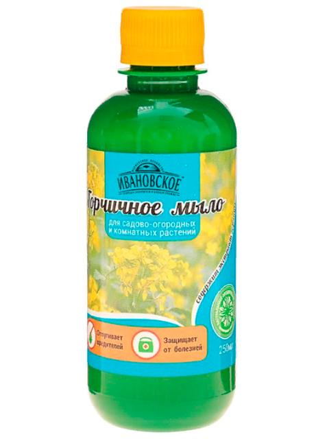 Горчичное мыло 0,25л, для садово-огородных и комнатных растений