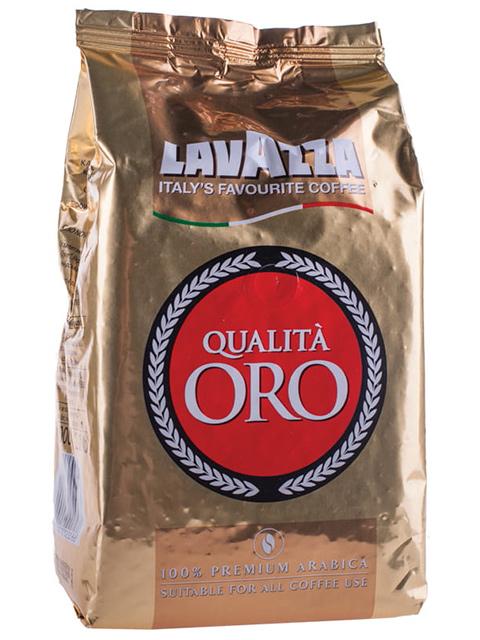 """Кофе в зернах LAVAZZA """"Oro"""" 1кг, вакуумная упаковка"""