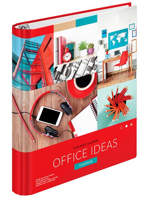 """Тетрадь А5 120 листов, клетка ArTSpace """"Офис. Colorful ideas"""" на кольцах"""