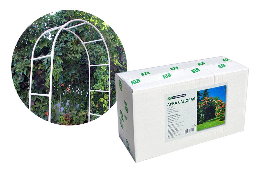Арка для вьющихся растений 100х200см, белый