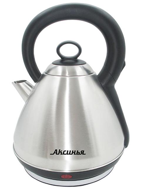 Чайник электрический Аксинья КС-1010, 3л, 2200Вт,нержавеющая сталь