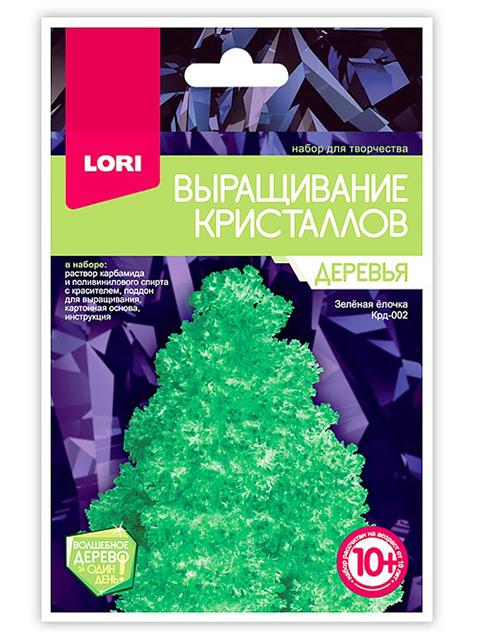 """Набор для творчества """"Выращивание кристаллов. Деревья. Зеленая елочка"""""""