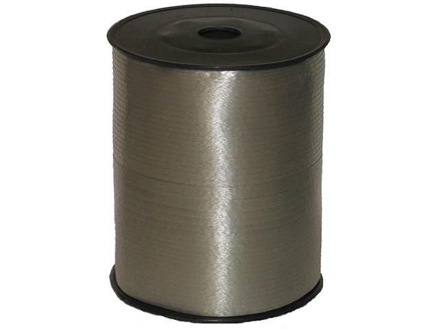Лента декоративная 5 мм х 500 м, серебро