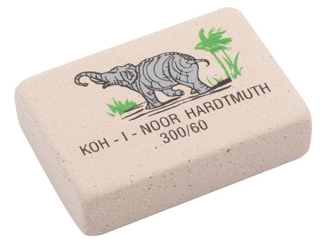 "Ластик KOH-I-NOOR ""Elephant"" 31х21 мм, мягкий, цветной"