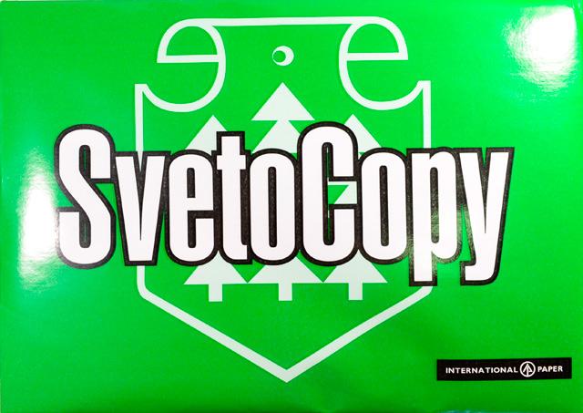 Бумага для офисной техники SvetoCopy (А4, 80г/кв.м, белизна 146 % CIE, класс-С, 500 листов)