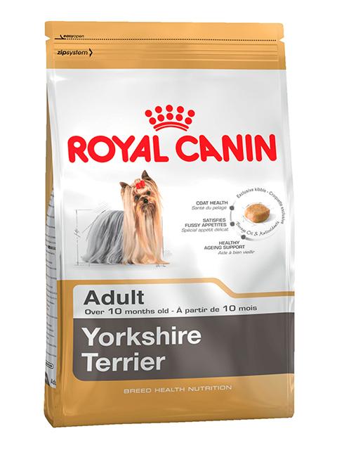 Корм РК Йоркширский Терьер 28 1,5 кг (для собак породы йоркшир от 10 мес)
