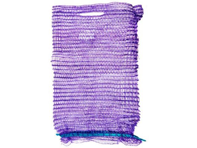 Сетка овощная 25х39 см., фиолетовая