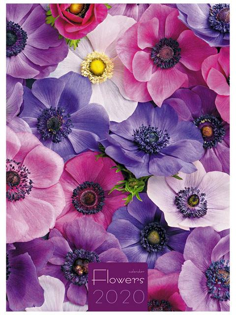 """Календарь 2020г. настенный перекидной """"Listoff. Прекрасные цветы"""" на евроспирали"""