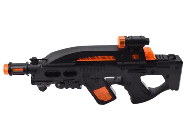"""Игрушечное оружие """"Мега стрелок"""" свет, звук, 36,5 см"""