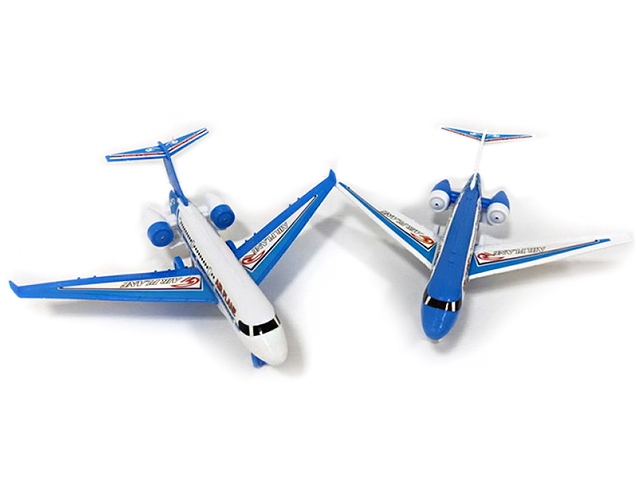 Самолет инерционный, в пакете