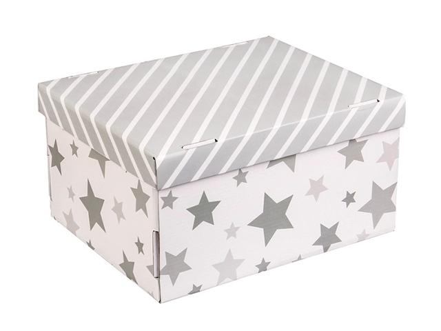 """Коробка складная для хранения """"Звездные радости"""" 31,2х25,6х16,1см"""