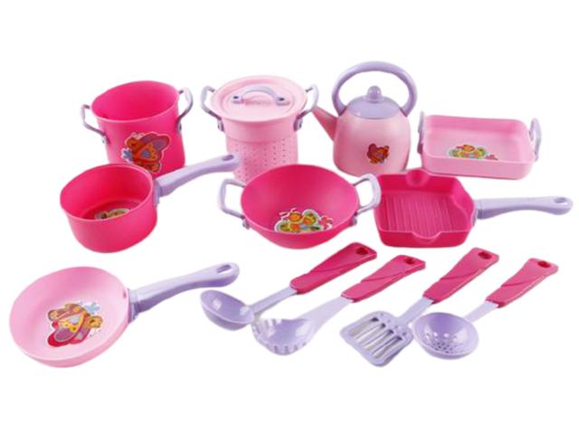 """Игровой набор посуды """"БАБОЧКИ-1"""" 13 предметов в пакете"""