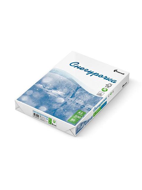 Бумага для офисной техники Снегурочка (A3, 80г/кв.м, белизна 146% CIE, класс-С, 500 листов)