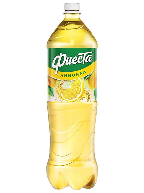 """Газированный напиток Фиеста """"Лимонад"""" 1,5 л ПЭТ"""
