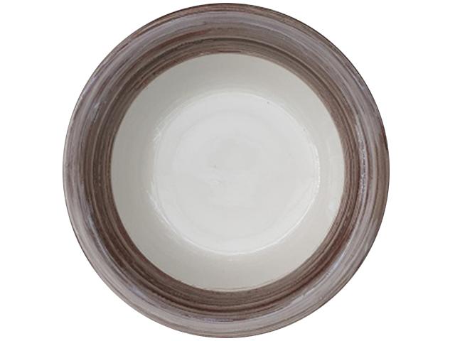 """Тарелка суповая """"Мокко"""" 21см, керамика"""