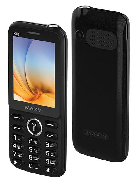 Мобильный телефон Maxvi К18 Black