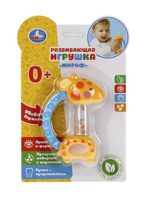 "Игрушка развивающая Умка ""Жирафик"" блистер"