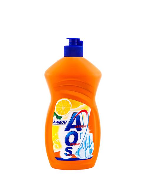 Средство для мытья посуды AOS Бальзам Лимон Extra power, 450 мл