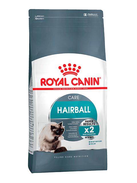 Корм РК ФКН7 Хэйрболл кэа 2 кг (для кошек, вывод шерсти из желудка)