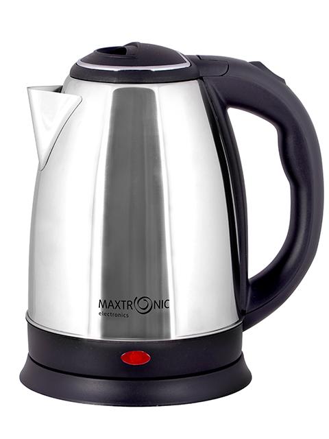 """Чайник электрический """"MAXTRONIC"""" МАХ -305А 1,8 л, 2200 Вт, закрытый нагревательный элемент, нержав. ста"""