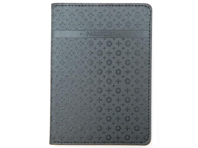 """Обложка для паспорта Intelligent """"PASSPORT"""" к/зам, серый мерцающий"""