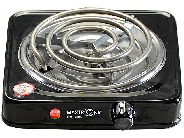 Электрическая плита 1 комф.MAXTRONIC MAX- AT- 001BS черная