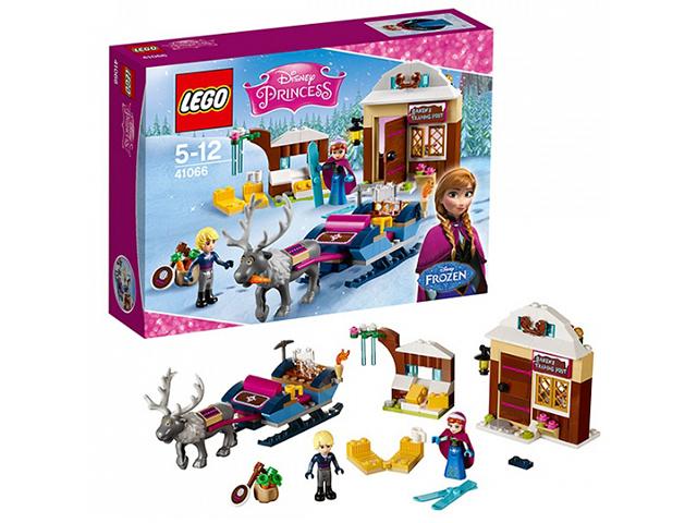 """Игрушка LEGO """"Disney Princess"""" Анна и Кристоф: прогулка на санях"""