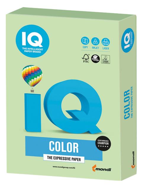 "Бумага IQ Color pale А4 160г/кв.м 250 листов ""Зеленый"""