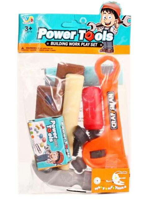 """Игровой набор инструментов """"Электрик-1"""" 10 предметов, в пакете"""