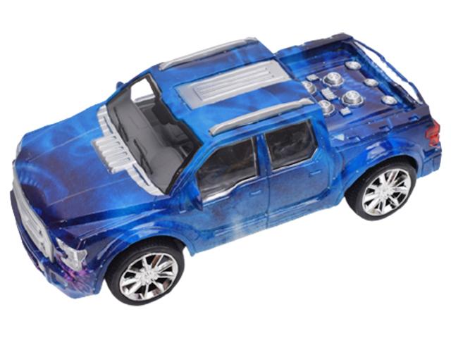 """Игрушка """"Машина. Синий пикап"""" 21 см, инерционная, в пакете"""