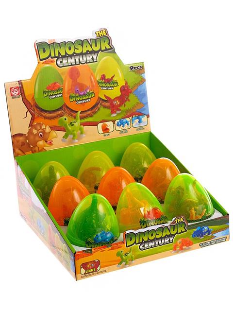 """Игрушка """"Динозавр"""" в яйце со светом"""