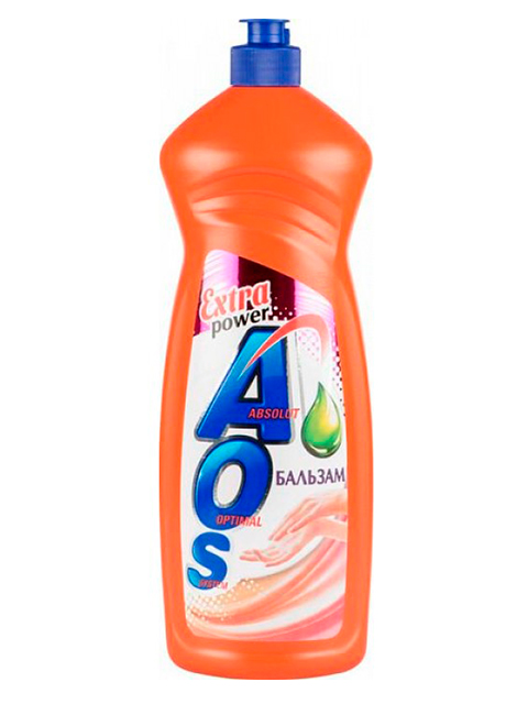 Средство для мытья посуды AOS Бальзам Extra power, 900 мл