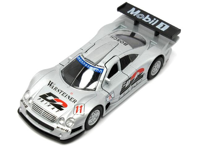 """Машинка-модель """"Mercedes-Benz CLK-GTR"""" металл, в упаковке"""