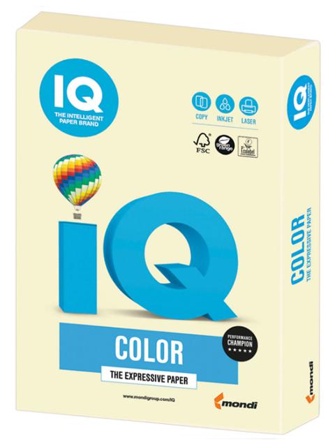 """Бумага IQ Color intensive А4 160 г/кв. м 250 листов """"Ванильная"""""""