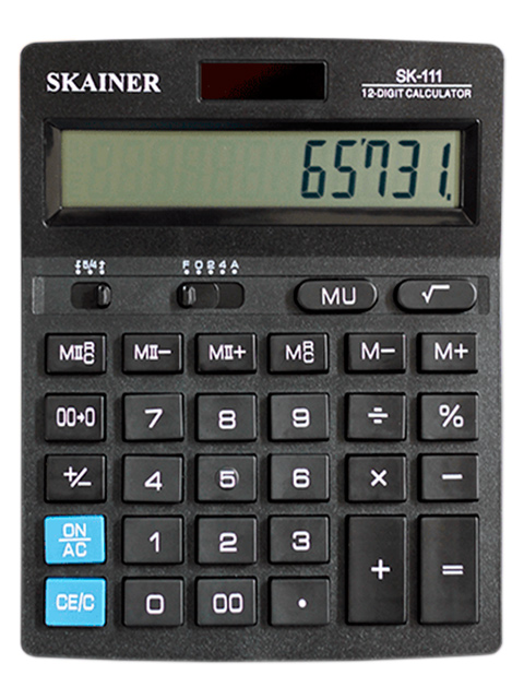 Калькулятор настольный SKAINER SK-111 12 разрядный