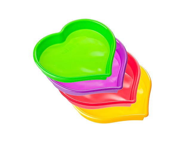 """Форма для выпечки """"VETTA. Сердце"""" 25х22х4,5 см, силикон"""