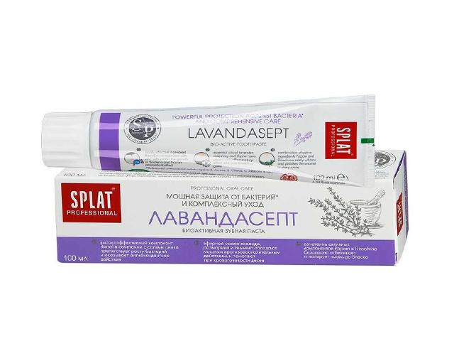 Зубная паста Splat Лечебная Лавандасепт 100 мл