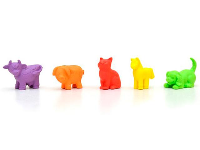 """Игровой набор KNOPA  мини-фигурки """"Домашние животные"""" 5 предметов, в блистере"""