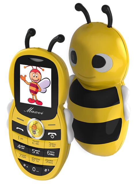 Мобильный телефон Maxvi J8 Yellow