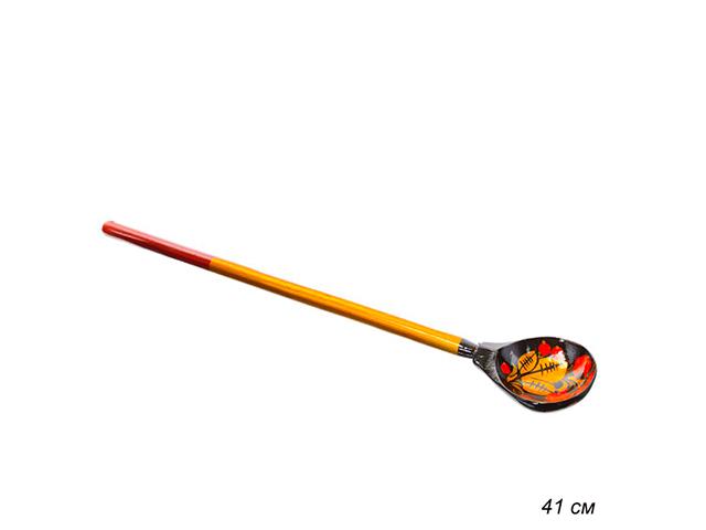 Ложка деревянная для солений с худ. росписью