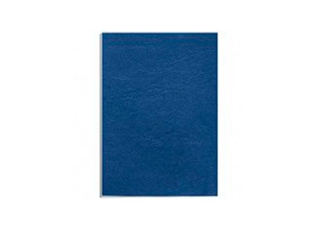 """Обложечный лист А4 картон """"Кожа"""" 230 г/м2, синий, 100 листов"""