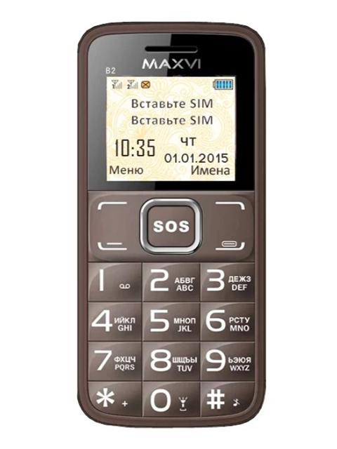 Мобильный телефон Maxvi В2 Coffee