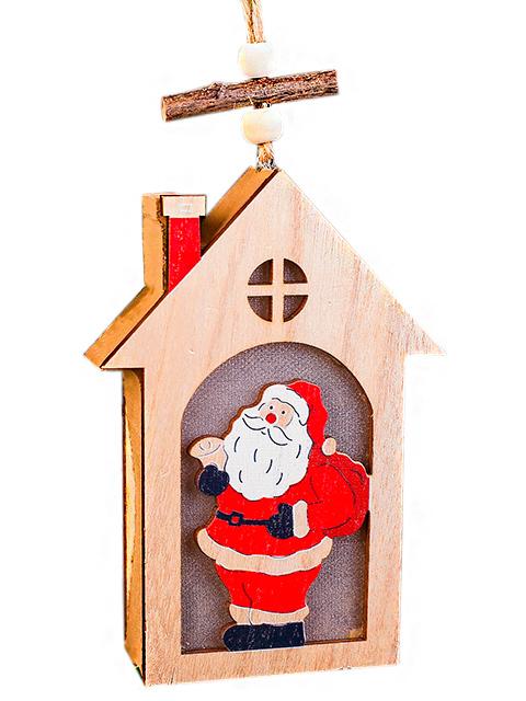 """Декор с подсветкой """"Санта"""" дерево"""