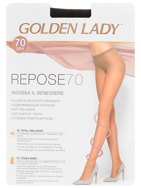 "Колготки женские Golden Lady ""Repose 70"" Nero 5-XL"