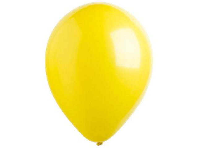 "Шар 12"" Стандарт Yellow Sunshine 50 штук в упаковке"