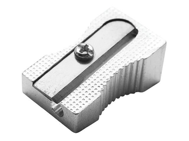 Точилка металлическая без контейнера, 1 отверстие (без штрих-кода)