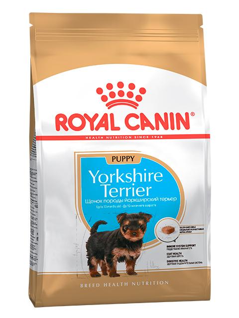 Корм РК Йоркширский Терьер Паппи 0,5 кг (для щенков до 10 месяцев)
