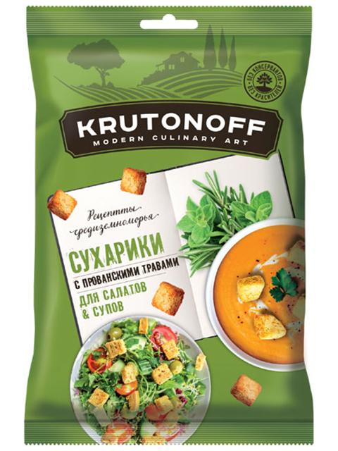 """Сухарики """"Kritonoff"""" пшеничные, с прованскими травами, 100 г"""